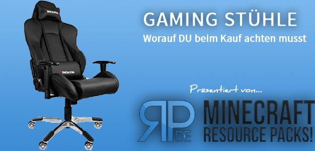 Gaming Stuhl Ratgeber auf resource-packs.de