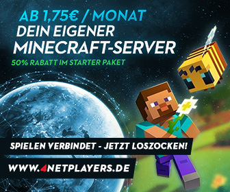 Miete jetzt deinen Minecraft Server
