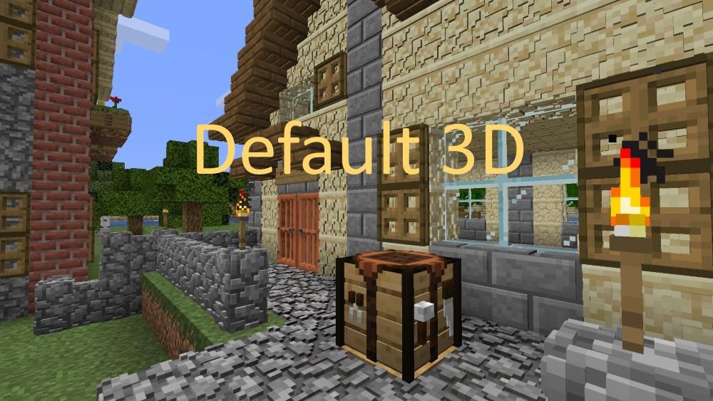 Default 3D Texture Pack