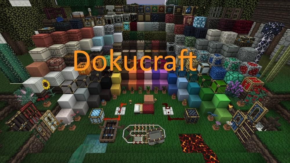 Dokucraft The Saga Continues Texturen Pack