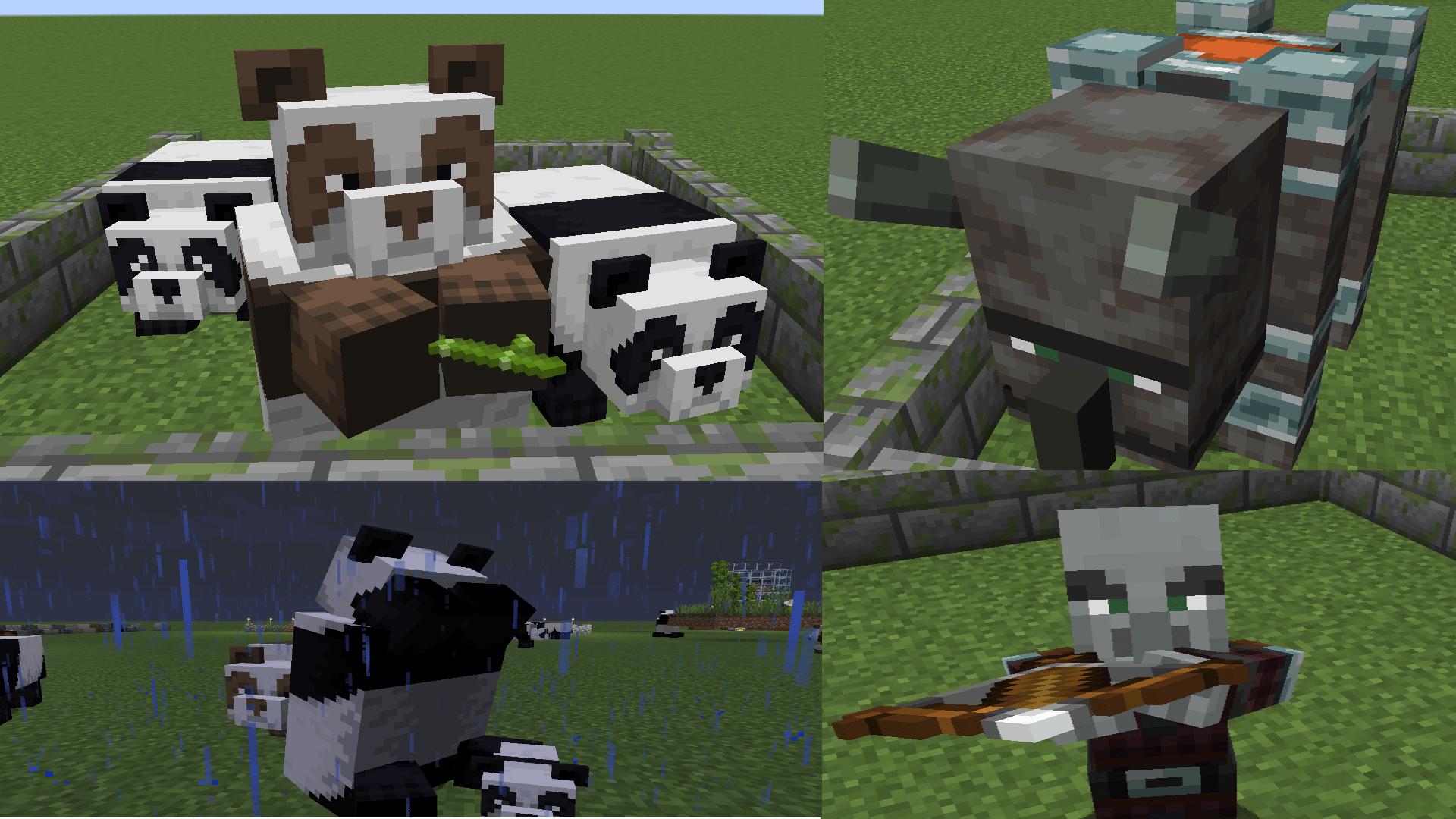 Minecraft 1 14 Anderungen Neuerungen Resource Packs De
