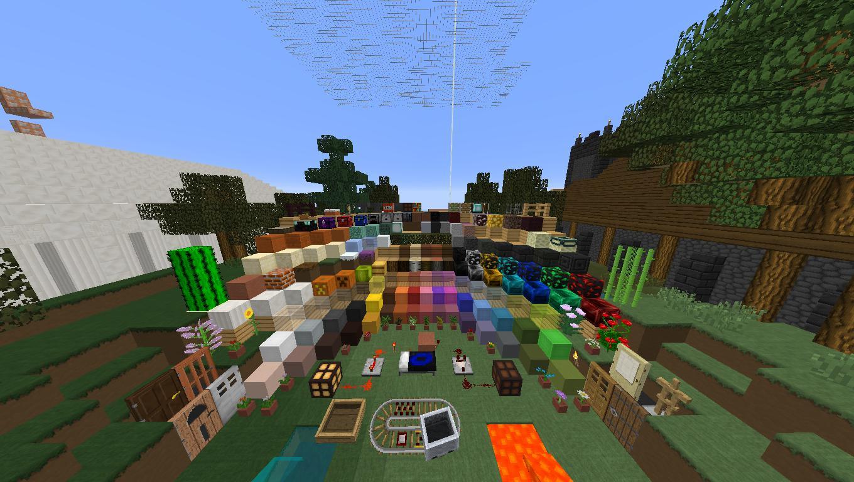 ᐅ BaumBlau K Texture Pack Für Minecraft - Minecraft bogen spiele