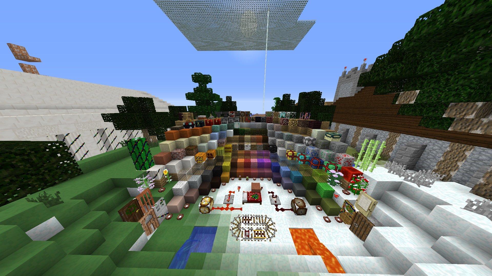 ᐅ Sugnas Christmas Pack Texture Pack Für Minecraft - Minecraft ingame spiele