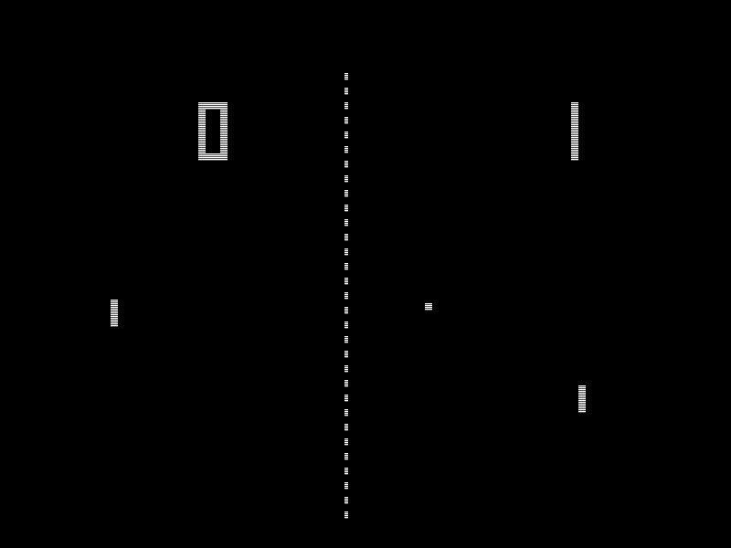 Geschichte der Videospiele, PONG