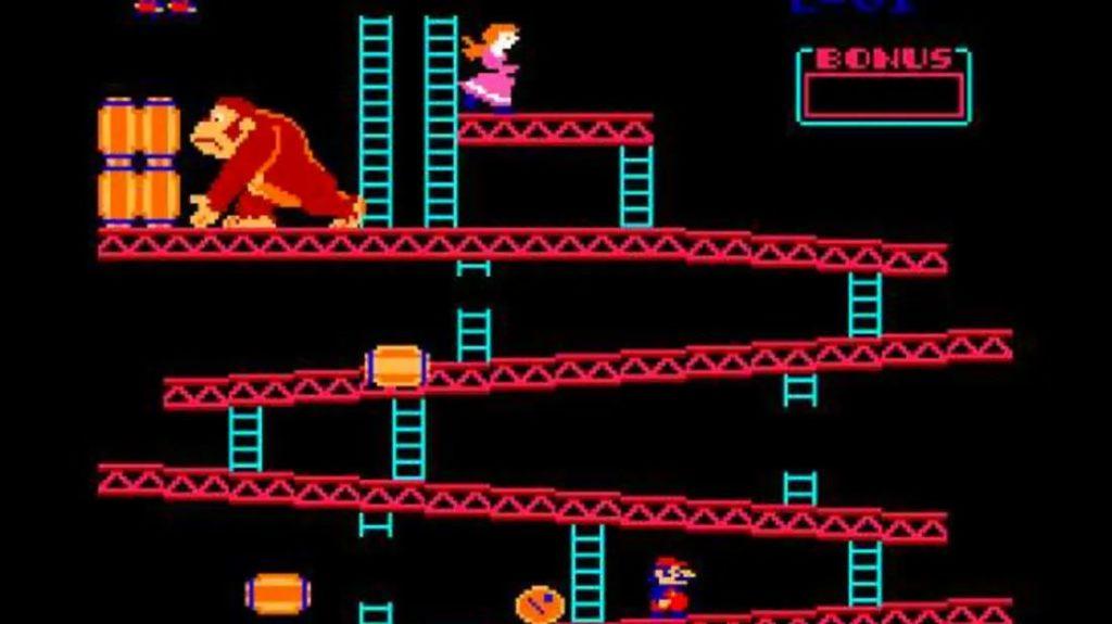 Geschichte der Videospiele, Donkey Kong