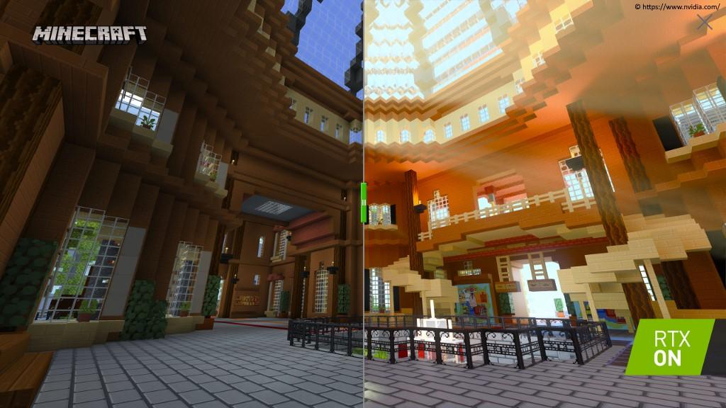 Fünf brandaktuelle RTX Beta Minecraft Welten veröffentlicht