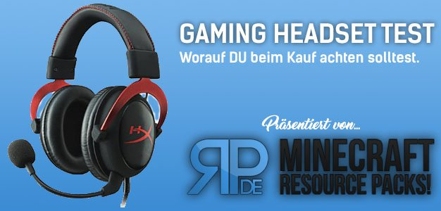 Gaming Headset Test von resource-packs.de