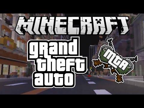 ᐅ GTA Minetheftauto Texture Pack Für Minecraft - Minecraft gta spiele