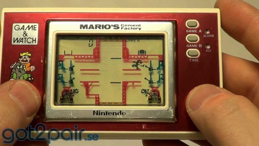 Marios Cement Factory, Nintendo, Game & Watch