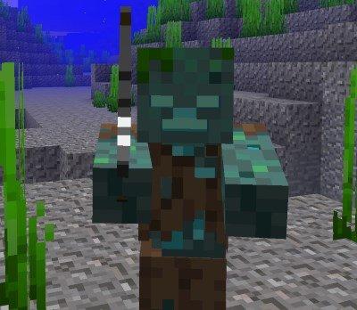 Minecraft 1.13 - Ertrunkener mit Angel