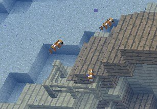 Minecraft 1.13 - Schwarm an Clownsfischen