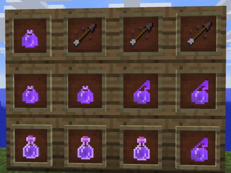 Minecraft 1.13 - Neue Tränke und Pfeile