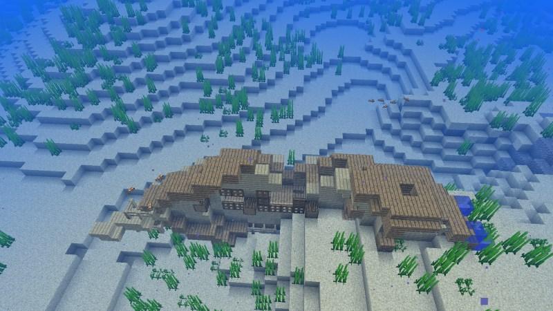 Minecraft 1.13 - Unterwasser Schiffswrack