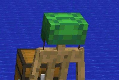 Minecraft 1.13 - Helm aus Schildkröten-Panzern