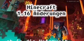 Minecraft 1.16 Nether Update - ab in die Unterwelt