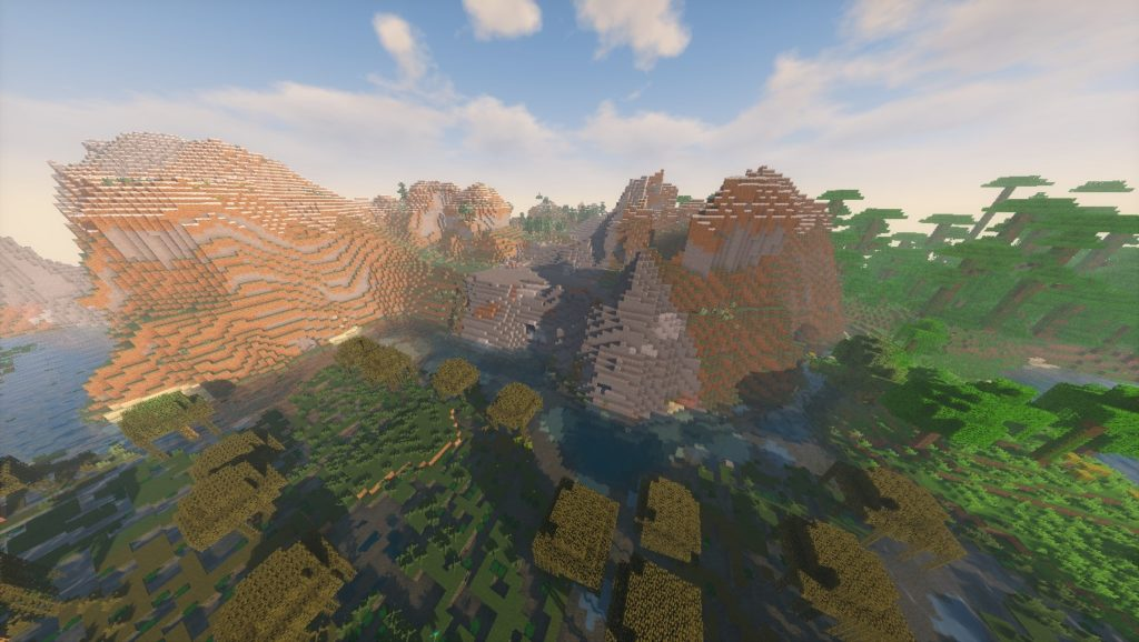 Minecraft Seeds: -1134619578760320255