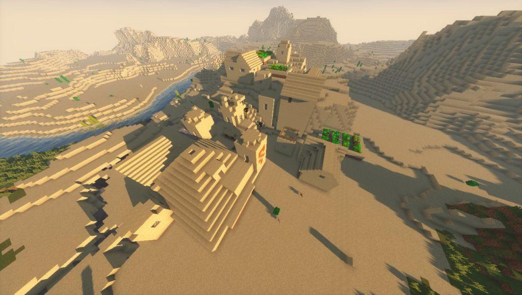 Minecraft Seeds: -7955155822622757578
