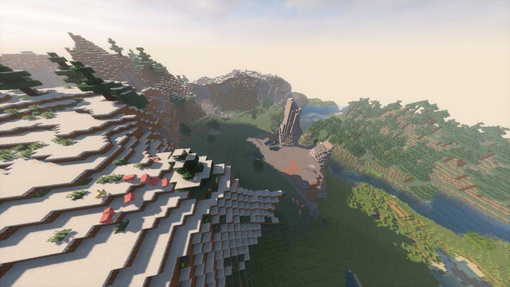 Minecraft Seeds -8913466909937400889