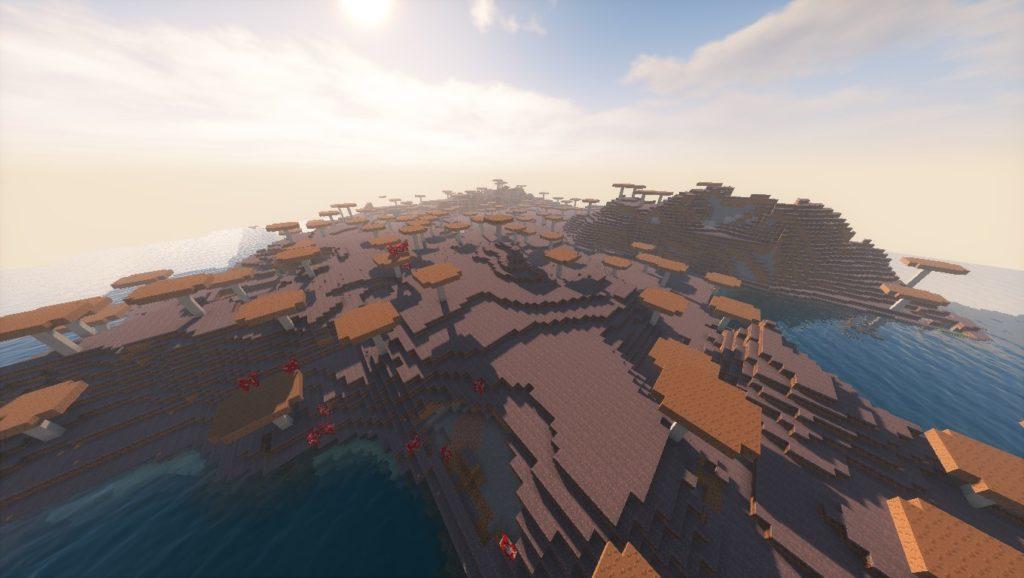 Minecraft Seeds: 2107564565349426305