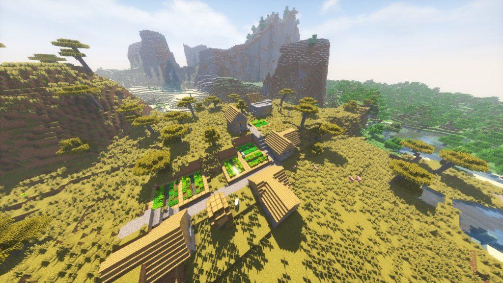 Minecraft Seeds: ThatWusLegitness