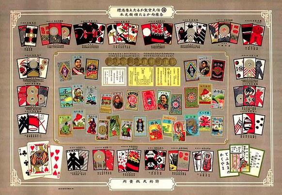 Nintendo Playing Cards (Spielkarten) von 1889