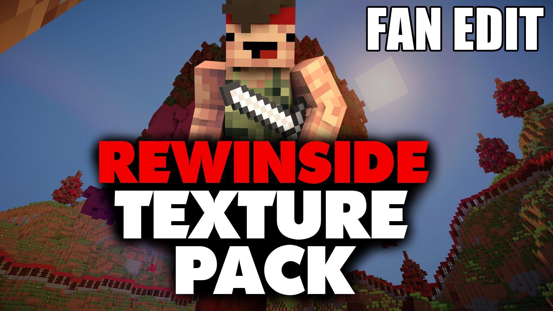 ᐅ Rewinside Texture Pack Texture Pack Für Minecraft - Minecraft texture pack namen andern