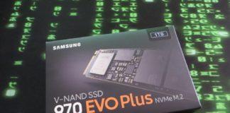 Samsung 970EVOPlus NVMe M.2 V-NAND SSD HDD im Kurztest, Testmuster von Cyberport zur Verfügung gestellt.