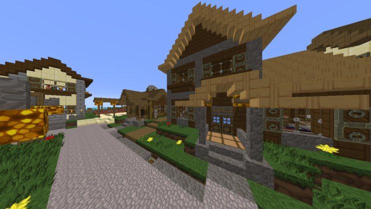 ᐅ Sphax PureBDCraft Texture Pack für Minecraft 1 13/1 12