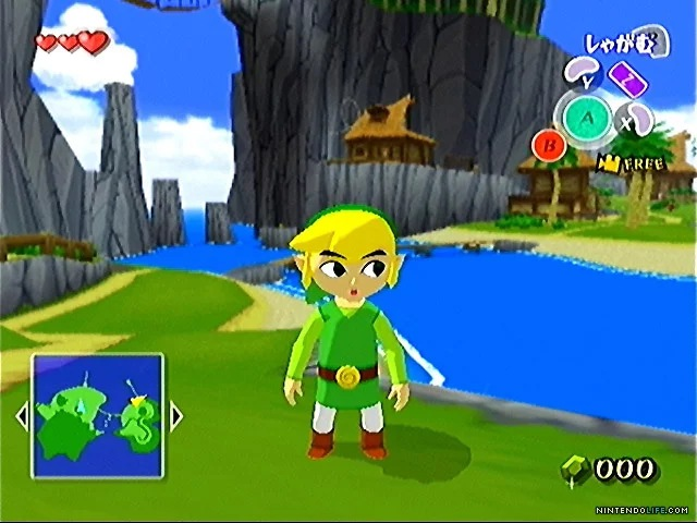 The Legend of Zelda - The Wind Waker, Nintendo, Gamecube