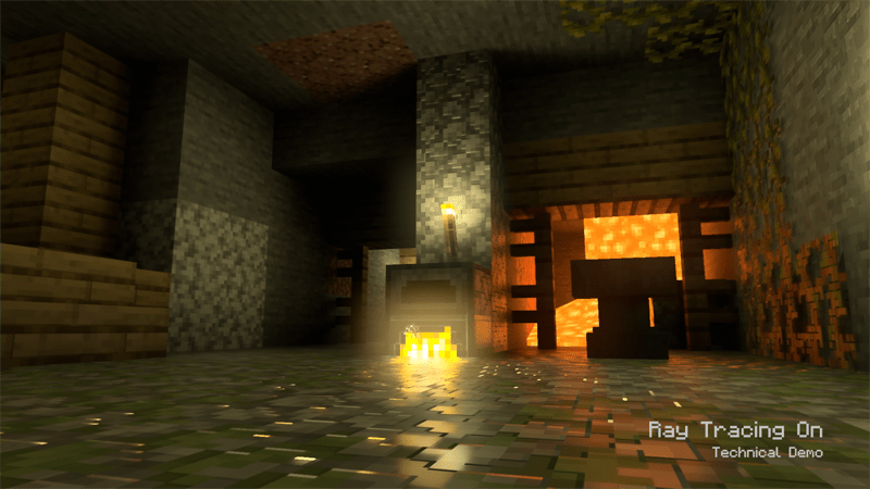 XBox Minecraft Raytracing